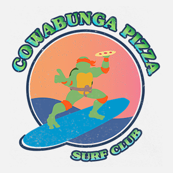 COWABUNGA PIZZA SURF